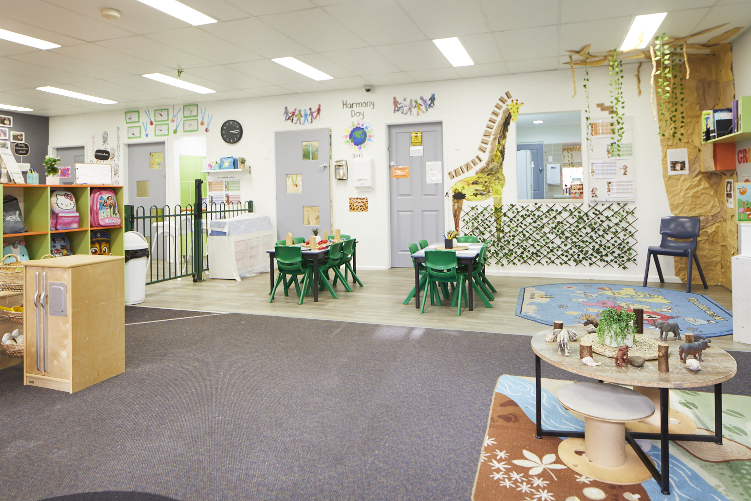 Preschool child care classroom at Papilio Ingleburn